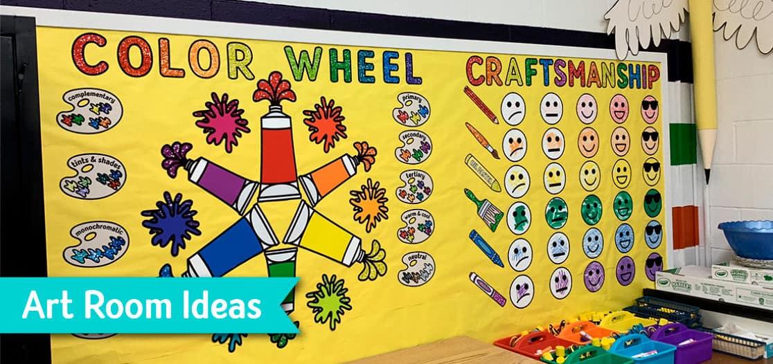 art room ideas for art teachers back to school