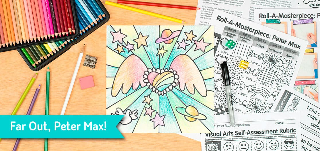peter max art project for kids