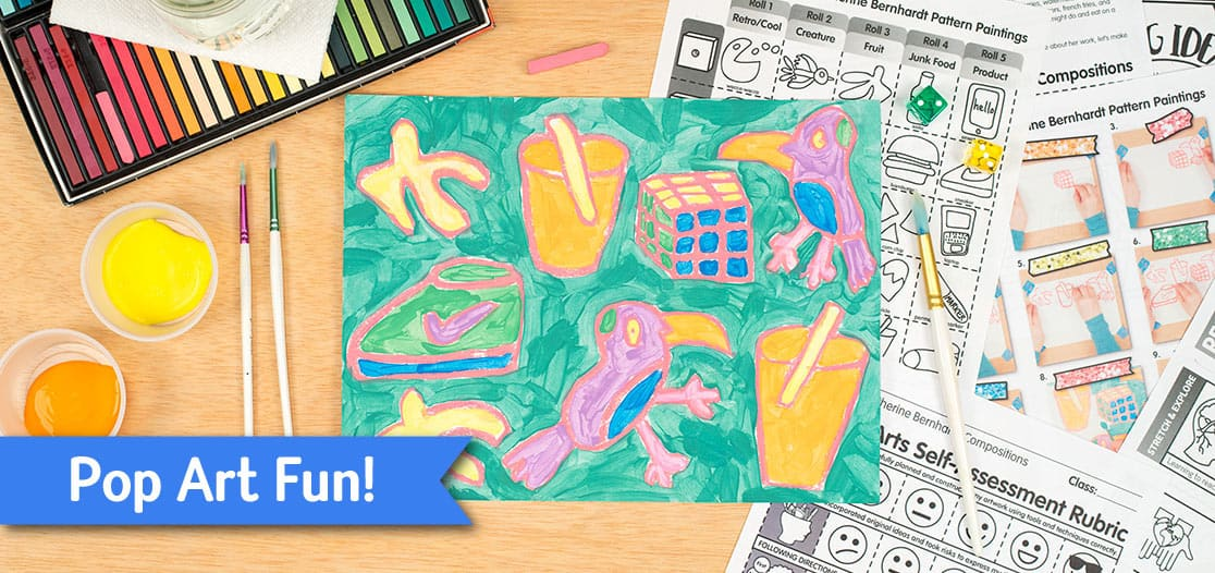 pop art project for kids