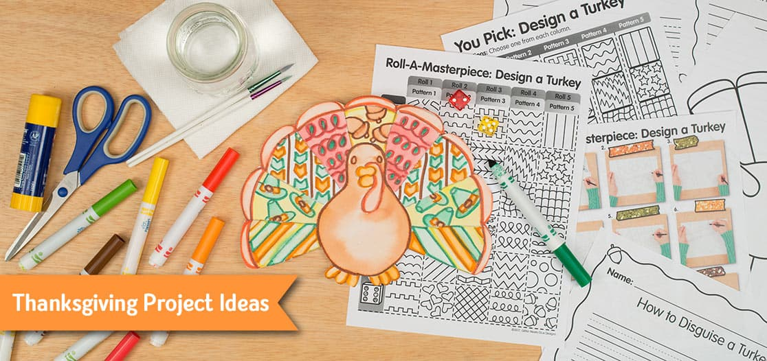 tom turkey ideas for kids during distance learning
