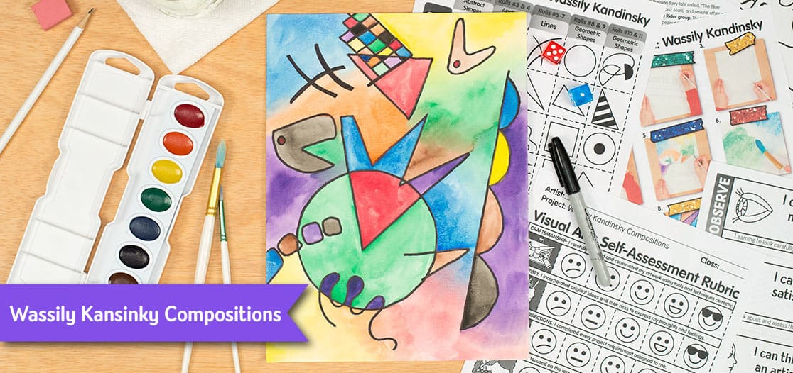 wassily kandinsky art project for kids