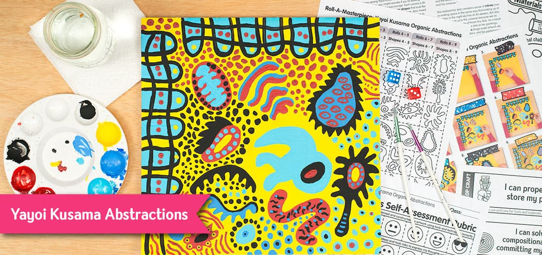 yayoi kusama art project for kids