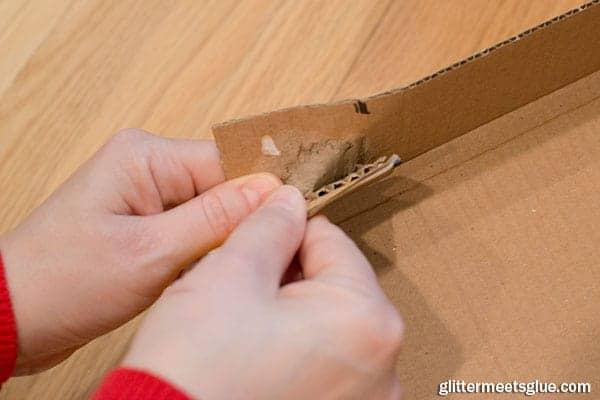 paper box shelves step 3