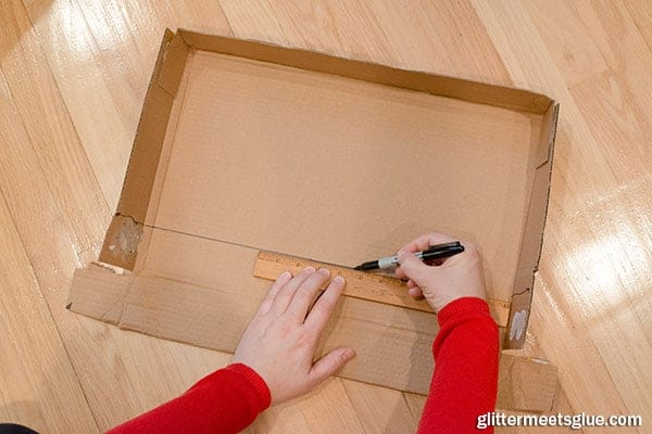 paper box shelves step 4
