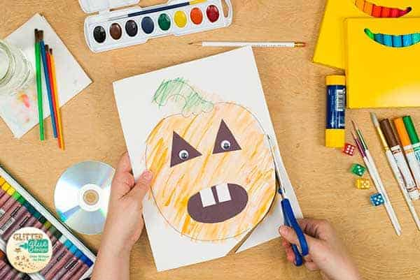 Cut out your pumpkin.