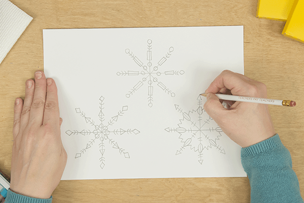 make each snowflake different