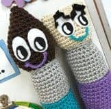 Mr. Brush Crochet Pattern
