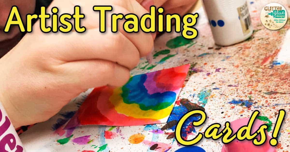 Artist Trading Cards Lesson Great Art Sub Plan Idea