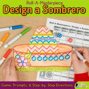 design a cinco de mayo sombrero using patterns