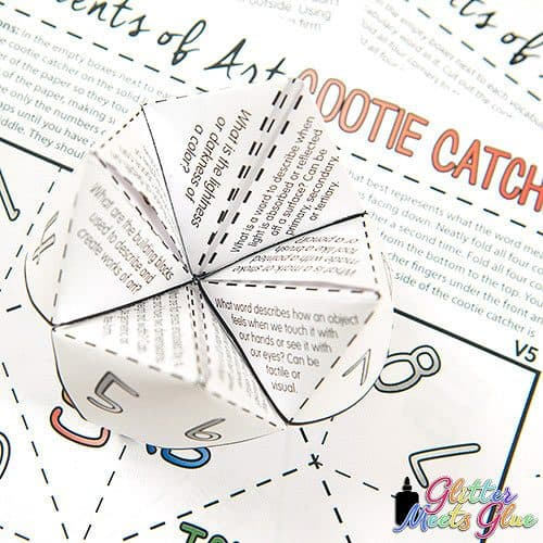 how to play cootie catcher game
