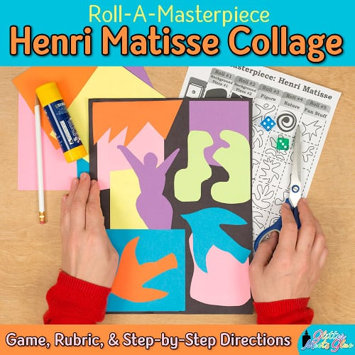 henri matisse art lesson for kids