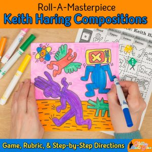 keith haring game for kids