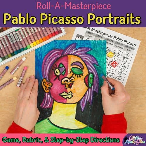 pablo picasso game for kids