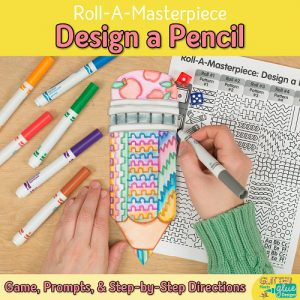 pencil game for back to school writing journals