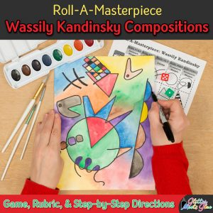 wassily kandinsky modern art game for kids