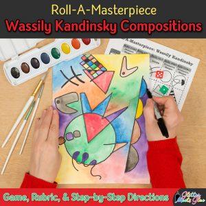 wassily kandinsky modern art game for kids