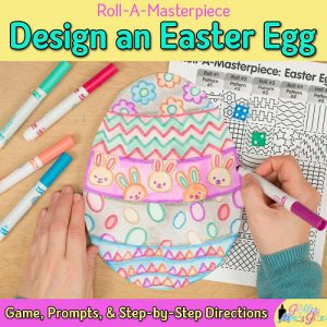easter egg art project for kids