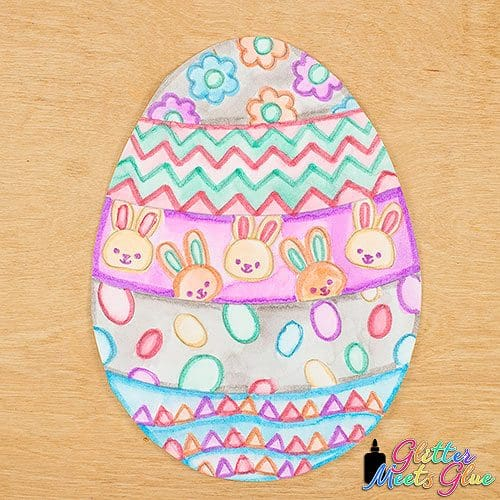 easter egg project roll and draw game