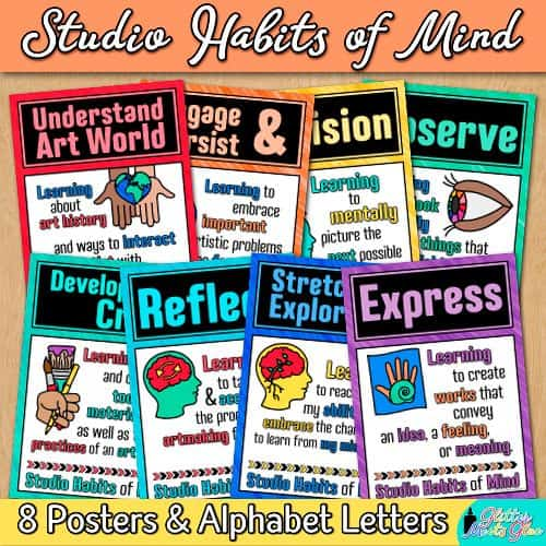 8 studio habits of mind posters in pdf format for printing
