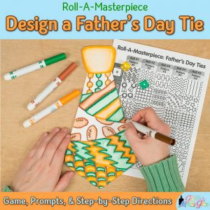 fathers day tie craft for kids