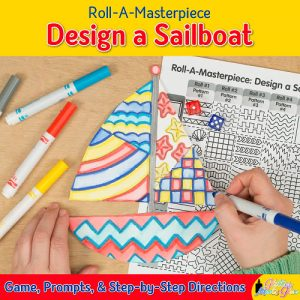sailboat drawing game for kids