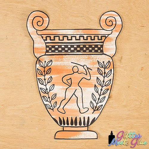 ancient greece vase art project for middle school