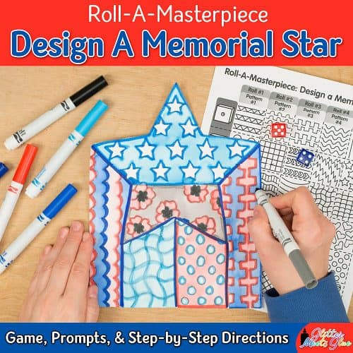 memorial day star craft for kids