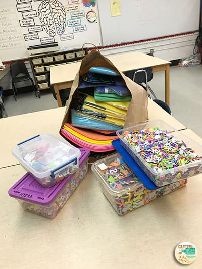 donations from classroom teachers