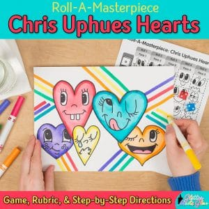 chris uphues hearts game for art history lessons