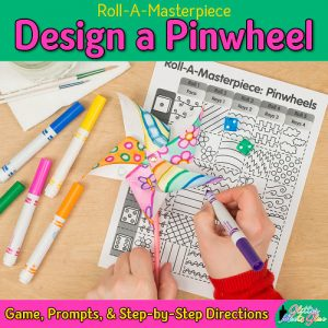 pinwheel art project for kids