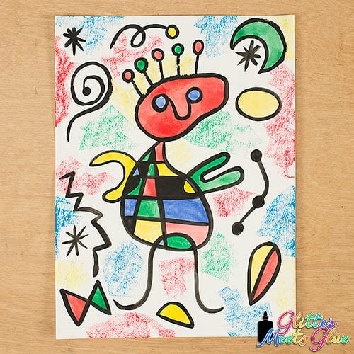 joan miro art project for kids