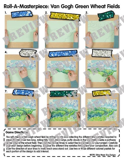 vincent van gogh step by step art lesson
