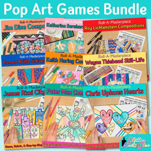 pop art games bundle for kids