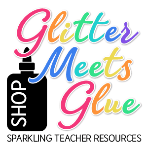 glitter meets glue art teacher resources