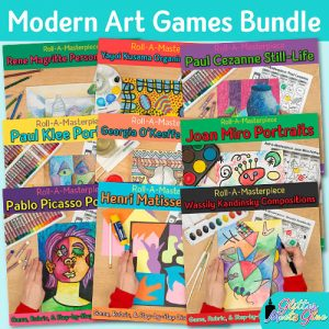 modern art games bundle for kids