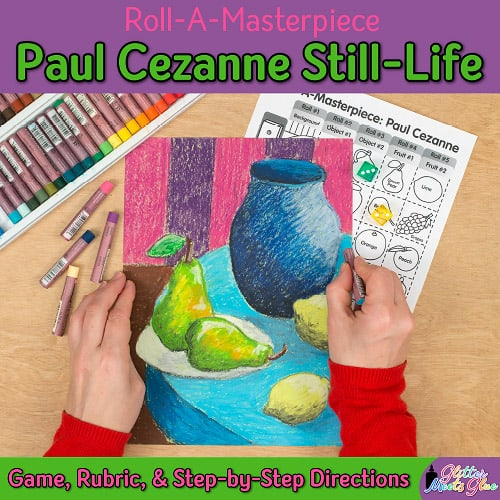 paul cezanne modern art lesson for kids