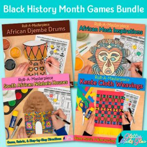black history month art lessons for kids