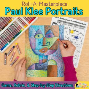 paul klee portrait art game for kids