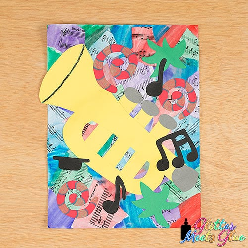romare bearden collage project for kids