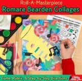 romare bearden collage art game for kids