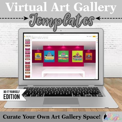 digital art show templates for kids
