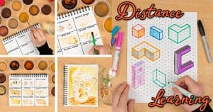 distance learning art project ideas