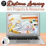 distance learning in art