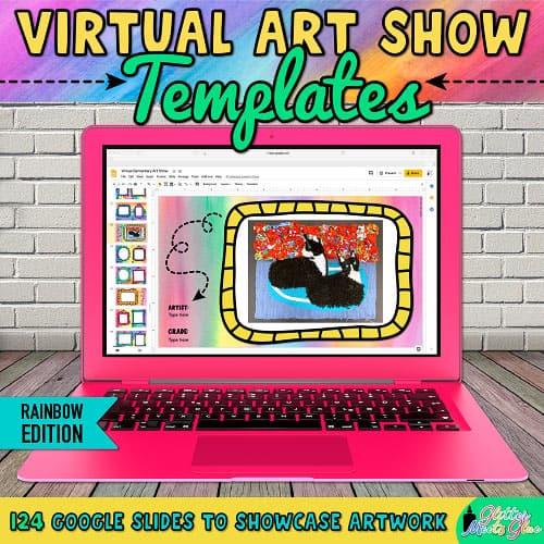 how to run a virtual elementary art show