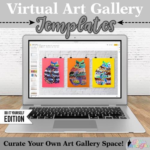 online art gallery templates for google slides
