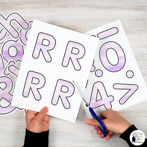 printable bulletin board letters for teachers
