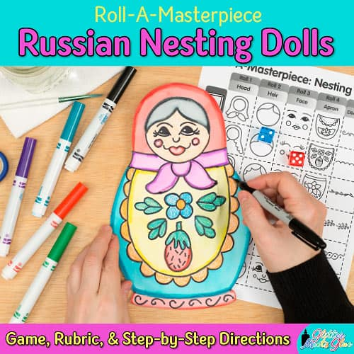 russian nesting dolls art project for kids