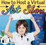 virtual art exhibit for kids