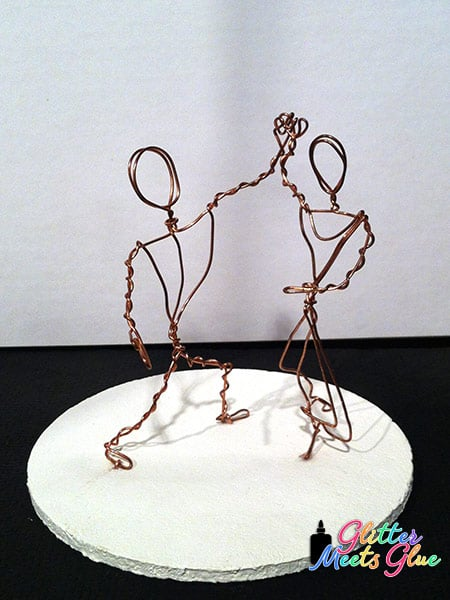 wire sculpture art projects for kids