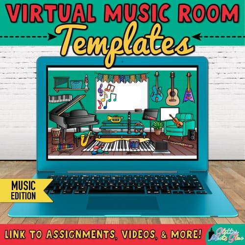 bitmoji virtual classroom music
